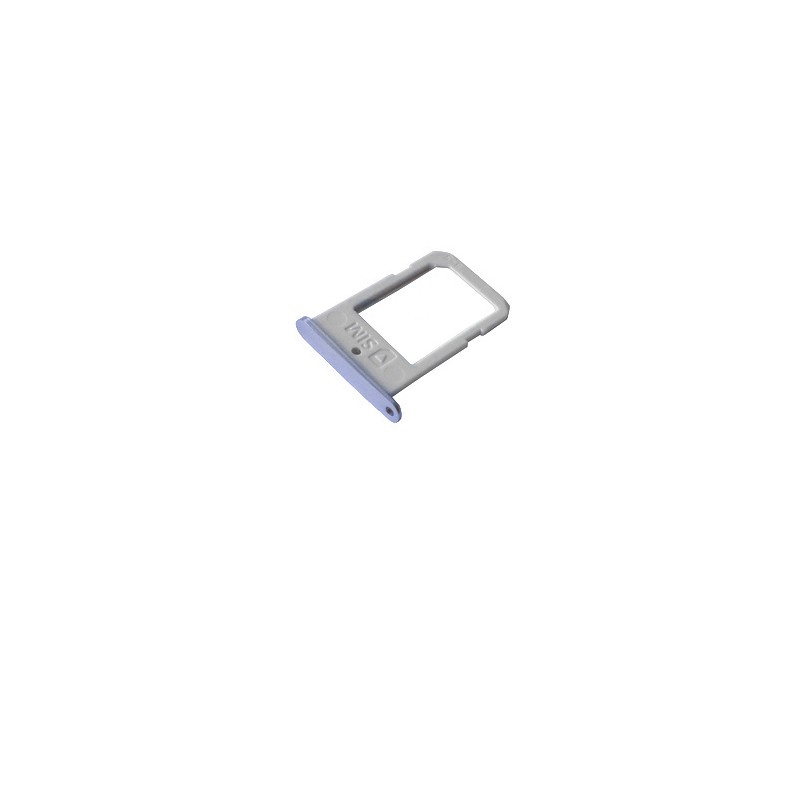 Rack tiroir carte SIM pour Samsung Galaxy S6 Edge Noir photo 2