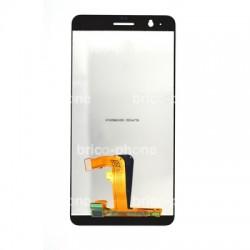 Ecran Blanc avec vitre et LCD pour Huawei Honor 6 Plus photo 3