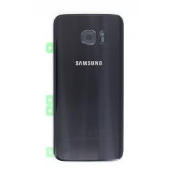 Vitre arrière Noire pour Samsung Galaxy S7 Edge photo 2