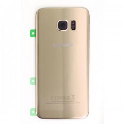 Vitre arrière Or pour Samsung Galaxy S7 Edge photo 2