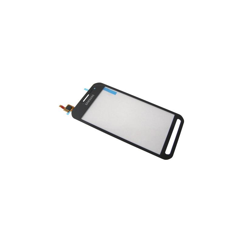 Vitre tactile Argent pour Samsung Galaxy Xcover 3 photo 2