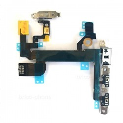 Nappe power-vibreur-volume complète pour iPhone SE photo 2