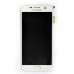 Ecran Amoled et vitre prémontés pour Samsung Galaxy S7 Blanc photo 2