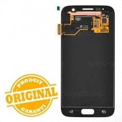 Ecran Amoled et vitre prémontés pour Samsung Galaxy S7 Blanc photo 3