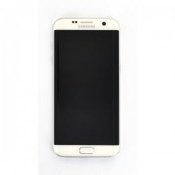 Ecran Amoled Blanc et vitre prémontés pour Samsung Galaxy S7 Edge photo 2