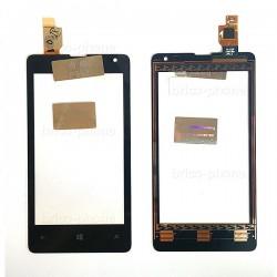 Vitre Noire sans châssis pour NOKIA Lumia 435 / 435 Dual Sim photo 2