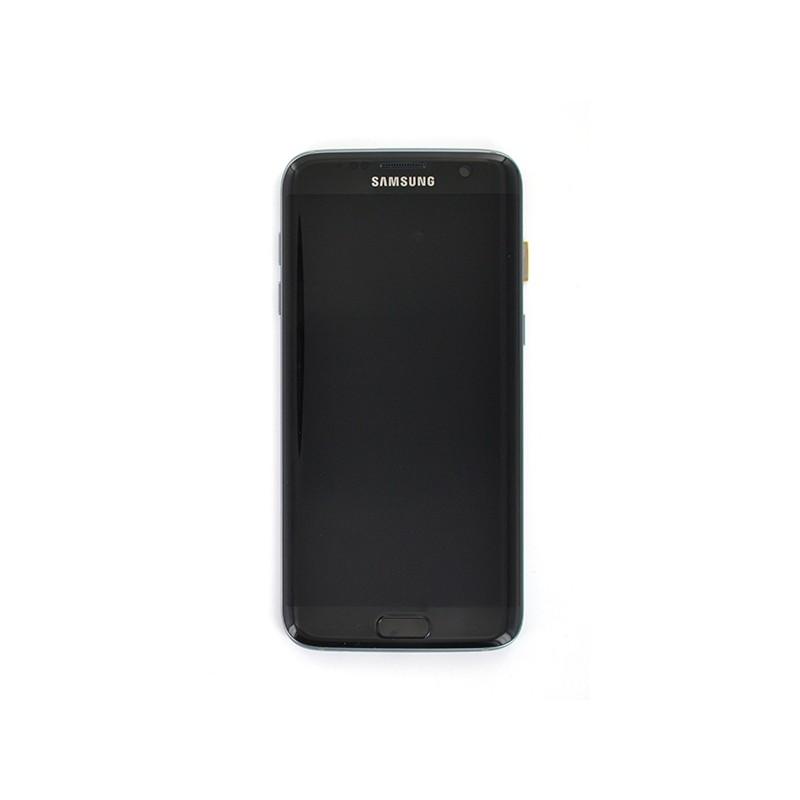 Ecran Amoled Noir et vitre prémontés pour Samsung Galaxy S7 Edge photo 2