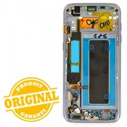 Ecran Amoled Noir et vitre prémontés pour Samsung Galaxy S7 Edge photo 3