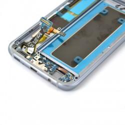 Ecran Amoled Noir et vitre prémontés pour Samsung Galaxy S7 Edge photo 4