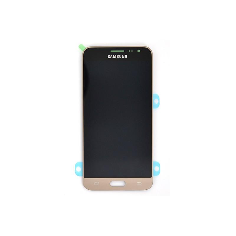 Ecran Amoled Gold et vitre prémontés pour Samsung Galaxy J3 2016 photo 2