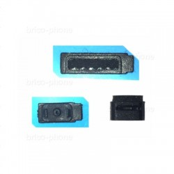 Grilles support de haut-parleur externe, micro et cache pour iPhone 5, 5C et 5S photo 1