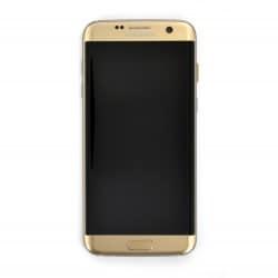Ecran Amoled Or et vitre prémontés pour Samsung Galaxy S7 Edge photo 2