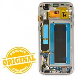 Ecran Amoled Or et vitre prémontés pour Samsung Galaxy S7 Edge photo 3