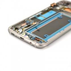 Ecran Amoled Or et vitre prémontés pour Samsung Galaxy S7 Edge photo 4