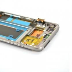 Ecran Amoled Or et vitre prémontés pour Samsung Galaxy S7 Edge photo 5