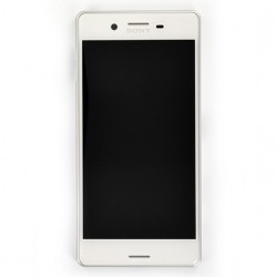 Bloc Ecran Blanc avec châssis pour Sony Xperia X / X Dual photo 2