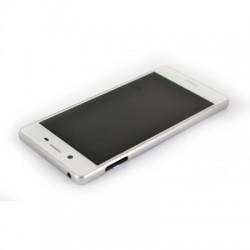 Bloc Ecran Blanc avec châssis pour Sony Xperia X / X Dual photo 4