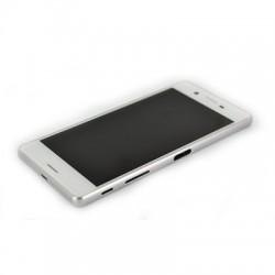 Bloc Ecran Blanc avec châssis pour Sony Xperia X / X Dual photo 5