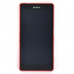 Bloc écran pour Sony Xperia Z3 Compact Orange photo 2