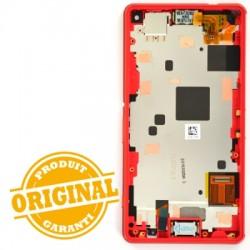 Bloc écran pour Sony Xperia Z3 Compact Orange photo 3