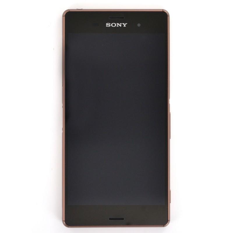 Bloc écran pour Sony Xperia Z3 DUAL Cuivre photo 2