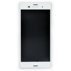 Bloc écran pour Sony Xperia Z3 DUAL Blanc photo 2