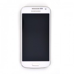Ecran BLANC prémonté sur châssis pour Samsung Galaxy S4 Mini VE photo 2