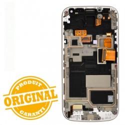 Ecran BLANC prémonté sur châssis pour Samsung Galaxy S4 Mini VE photo 3