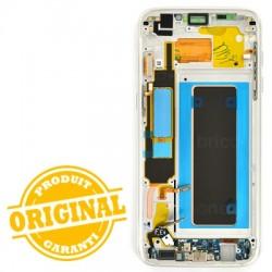 Ecran Amoled Argent et vitre prémontés pour Samsung Galaxy S7 Edge photo 3