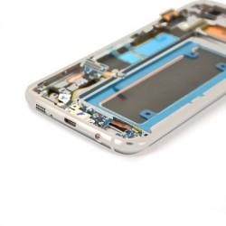 Ecran Amoled Argent et vitre prémontés pour Samsung Galaxy S7 Edge photo 4