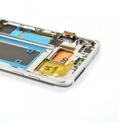 Ecran Amoled Argent et vitre prémontés pour Samsung Galaxy S7 Edge photo 5