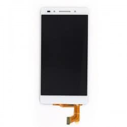 Ecran Blanc avec vitre et LCD prémonté pour Huawei Honor 7 photo 2