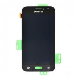 Ecran Amoled Noir et vitre prémontés pour Samsung Galaxy J1 2016 photo 2
