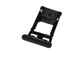 Rack tiroir Noir pour cartes SIM et SD pour Sony Xperia X photo 2
