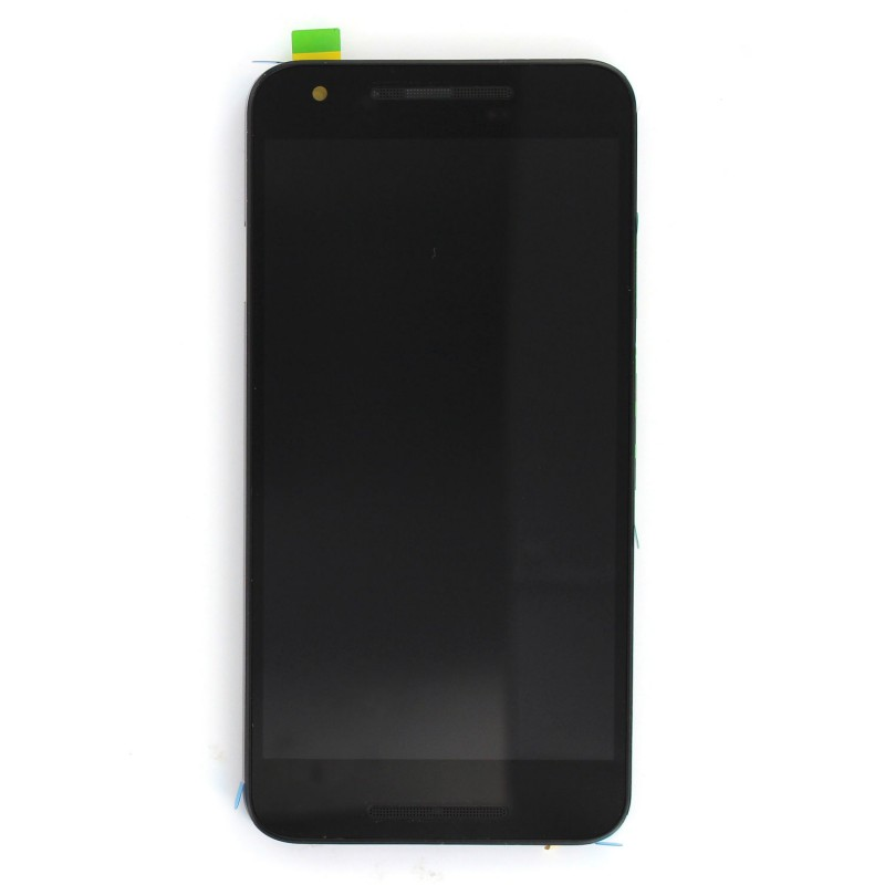 Ecran NOIR COMPLET prémonté sur chassis pour Nexus 5X photo 2
