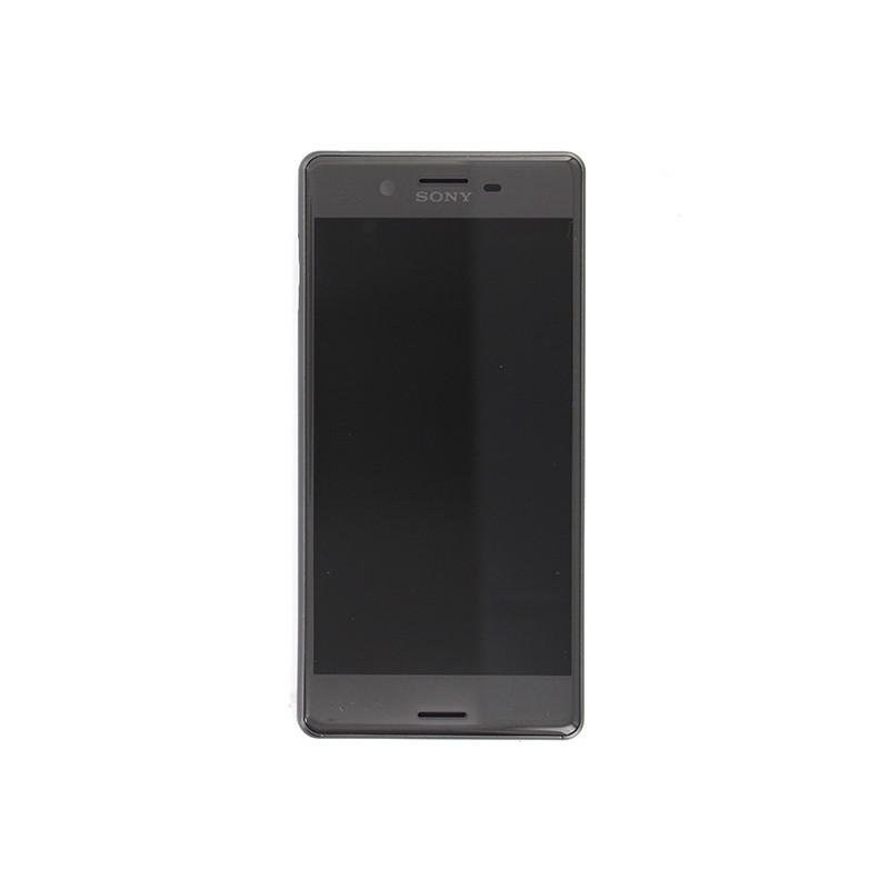Bloc Ecran Noir avec châssis pour Sony Xperia X / X Dual photo 2