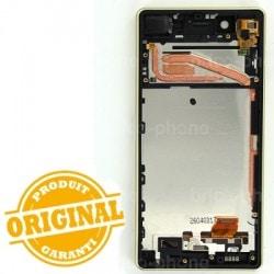 Bloc Ecran Lime avec châssis pour Sony Xperia X / X Dual photo 3