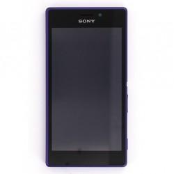 Bloc Ecran Purple complet pour Sony Xperia M2 photo 2