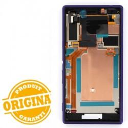 Bloc Ecran Purple complet pour Sony Xperia M2 photo 3