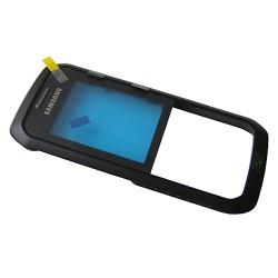 Bloc vitre avec chassis Noir pour Samsung Galaxy Xcover B550 photo 2