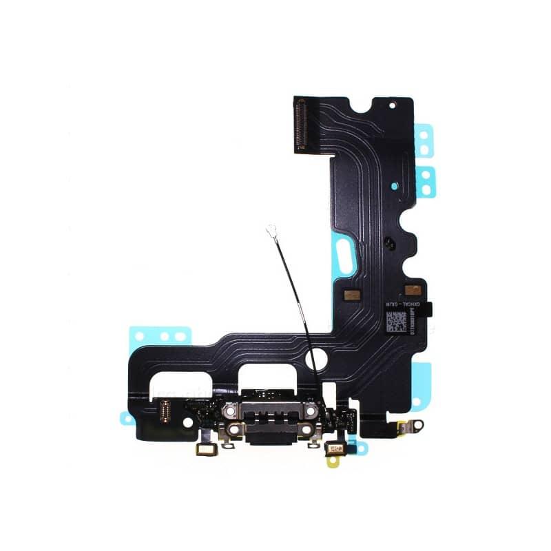 Connecteur de charge Noir pour iPhone 7 photo 2