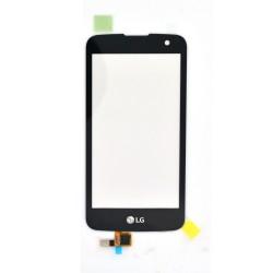 Vitre tactile NOIRE pour LG K4 LTE photo 2