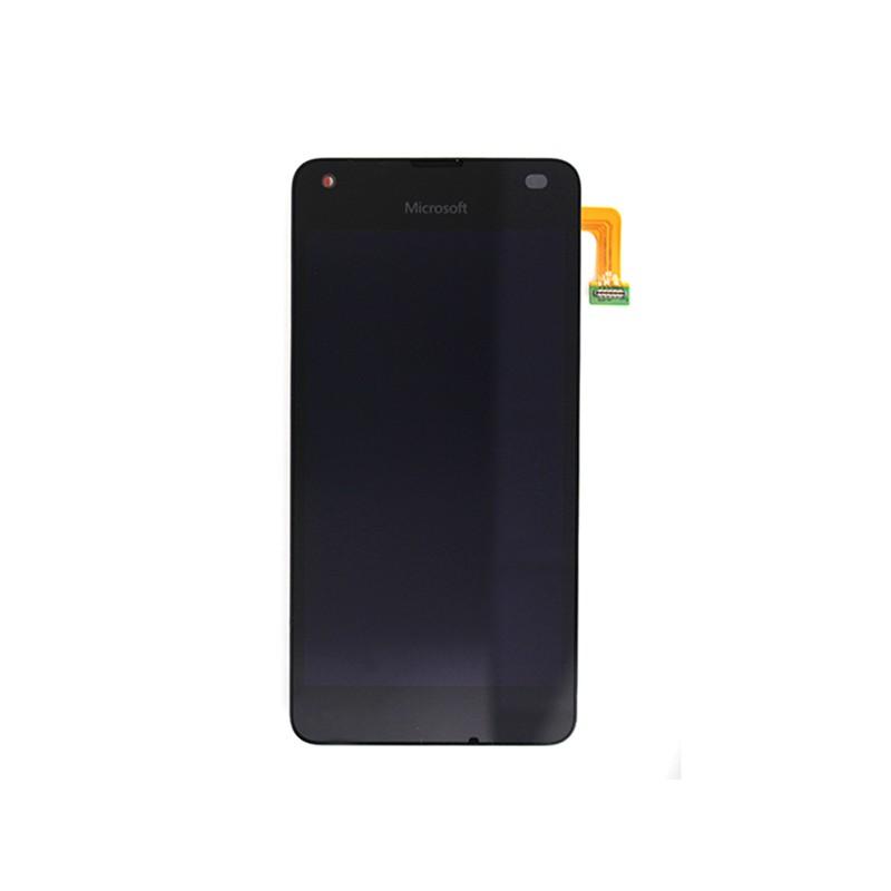 Bloc Ecran NOIR avec vitre et LCD sur châssis pour Microsoft Lumia 550 photo 2