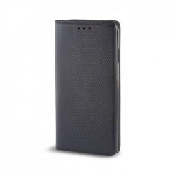 Housse portefeuille avec effet grainé Noir pour Samsung Galaxy S6 Edge photo 2