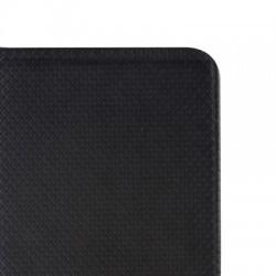Housse portefeuille avec effet grainé Noir pour Samsung Galaxy S6 Edge photo 7