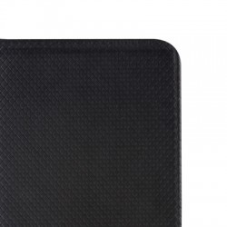 Housse portefeuille avec effet grainé Noir pour Samsung Galaxy A5 2016 photo 7