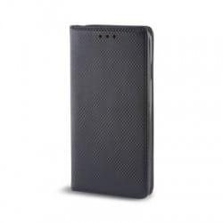 Housse portefeuille avec effet grainé Noir pour Samsung Galaxy A5 2016 photo 1