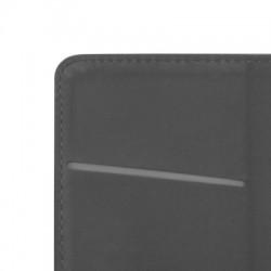 Housse portefeuille avec effet grainé Noir pour Samsung Galaxy J3 2016 photo 8