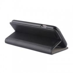 Housse portefeuille avec effet grainé Noir pour ASUS ZENFONE 2 photo 5