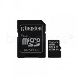 Carte mémoire microSDHC Classe 10 KINGSTON 16 Go photo 3
